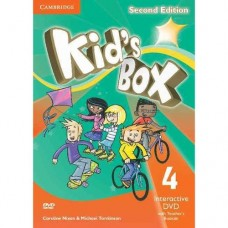 Kid's Box (2nd) Level 4 Interactive DVD + Teacher's Booklet