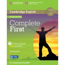 Complete First (2nd) Student's Book with Answers + CD-ROM