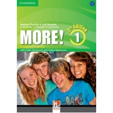 More! (2nd edition) Level 1 Student's Book + Cyber Homework + Online Resources