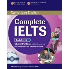 Complete IELTS Bands 6.5-7.5 Student's Book without Answers + CD-ROM