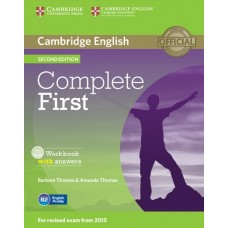 Complete First (2nd) Workbook with Answers + Audio CD