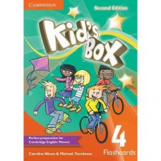 Kid's Box (2nd) Level 4 Flashcards