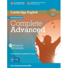 Complete Advanced (2nd) Workbook with answers + Audio CD