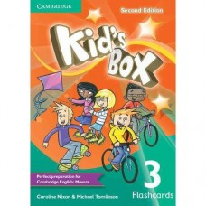 Kid's Box (2nd) Level 3 Flashcards