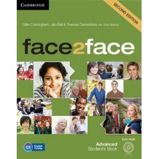 face2face (2nd edition) Advanced Student's Book + DVD-ROM