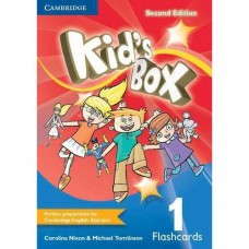Kid's Box (2nd) Level 1 Flashcards