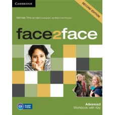 face2face (2nd edition) Advanced Workbook + Key