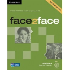 face2face (2nd edition) Advanced Teacher's Book + DVD
