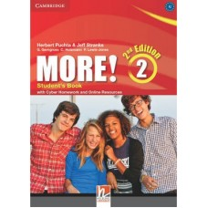 More! (2nd edition) Level 2 Student's Book + Cyber Homework + Online Resources