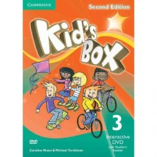 Kid's Box (2nd) Level 3 Interactive DVD + Teacher's Booklet