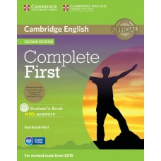 Complete First (2nd) Student's Book Pack (Student's Book with Answers + CD-ROM + Class Audio CDs)