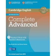 Complete Advanced (2nd) Teacher's Book + Teacher's Resources CD-ROM