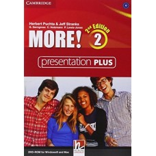 More! (2nd edition) Level 2 Presentation Plus DVD-ROM
