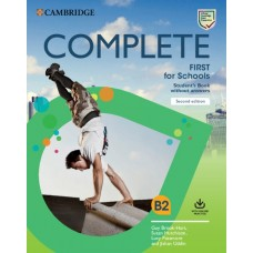Complete First for Schools (2nd) Student's book without answers + Online Practice