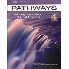 Pathways 4 Listening, Speaking and Critical Thinking Student's Book + Online Workbook Access Code