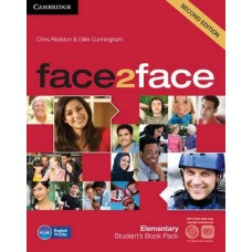 face2face (2nd edition) Elementary Student's Book + DVD-ROM + Online Workbook