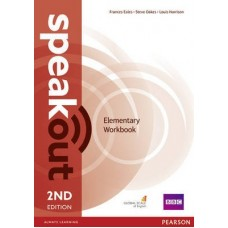 Speakout (2nd) Elementary Workbook without key