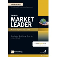 Market Leader (3rd Edition) Elementary Extra Course Book + DVD-ROM + Online