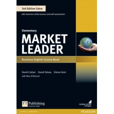 Market Leader (3rd Edition) Elementary Extra Course Book + DVD-ROM