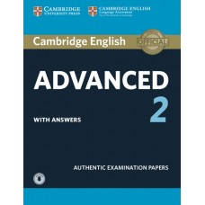 Cambridge English Advanced 2 Student's Book Pack (Student's Book with Answers and Audio CDs)