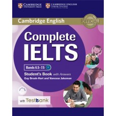 Complete IELTS Bands 6.5-7.5 Student's Book with Answers + CD-ROM + Testbank