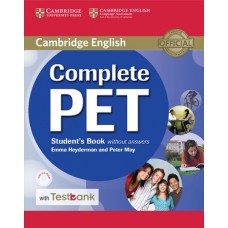 Complete PET Student's Book without Answers + CD-ROM + Testbank