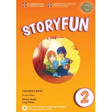 Storyfun (2nd) for Starters Level 2 Teacher's Book + Online Audio