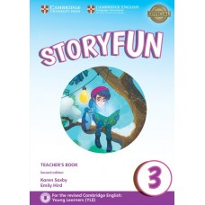 Storyfun (2nd) for Movers Level 3 Teacher's Book + Online Audio