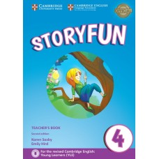 Storyfun (2nd) for Movers Level 4 Teacher's Book + Online Audio