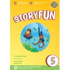 Storyfun (2nd) for Flyers Level 5 Teacher's Book + Online Audio