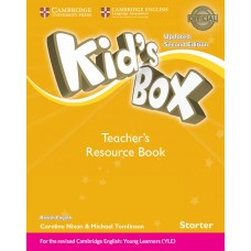 Kid's Box Updated (2nd) Starter Teacher's Resource Book + Online Audio