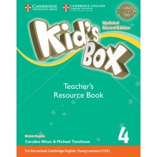 Kid's Box Updated (2nd) Level 4 Teacher's Resource Book + Online Audio