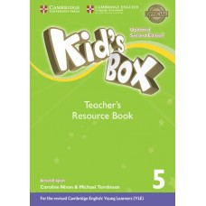 Kid's Box Updated (2nd) Level 5 Teacher's Resource Book + Online Audio