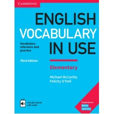 English Vocabulary in Use (3rd edition) Elementary with Answers + EBook