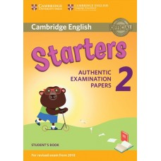 Cambridge English Young Learners 2 Starters for Revised Exam from 2018 Student's Book
