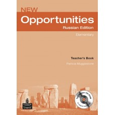 New Opportunities Elementary Teacher's Book + Test Master CD-ROM