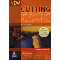 New Cutting Edge Intermediate Student's Book + CD-ROM