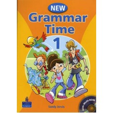 New Grammar Time 1 Student's Book + Multi-Rom