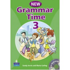New Grammar Time 3 Student's Book + Multi-Rom
