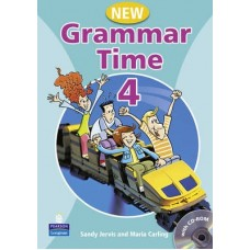 New Grammar Time 4 Student's Book + Multi-Rom