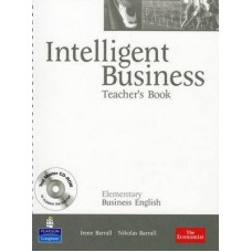 Intelligent Business Elementary Teacher's Book + Test Master CD-ROM