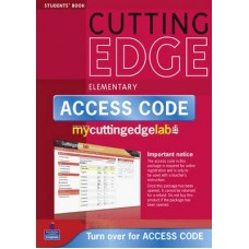 New Cutting Edge Elementary Student's Book + CD-ROM + MyEnglishLab