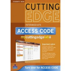 New Cutting Edge Intermediate Student's Book + CD-ROM + MyEnglishLab