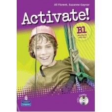 Activate! B1 Workbook + Key + CD-ROM Pack