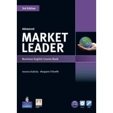 Market Leader (3rd Edition) Advanced Course Book + DVD-ROM