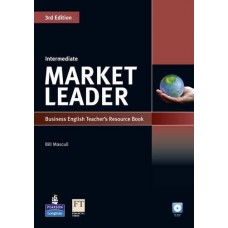 Market Leader (3rd Edition) Intermediate Teacher's Book + CD-ROM