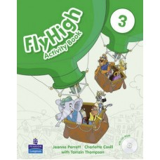 Fly High 3 Activity Book + CD-Rom Pack