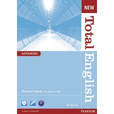New Total English Advanced Teacher's Book + CD-ROM Pack