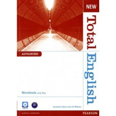 New Total English Advanced Workbook + key + Audio CD