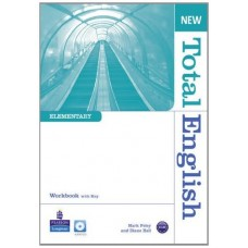 New Total English Elementary Workbook + key + Audio CD